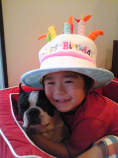 ♪こなつ 祝 4歳♪