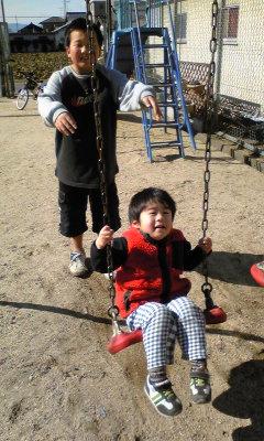 ♪公園にて♪